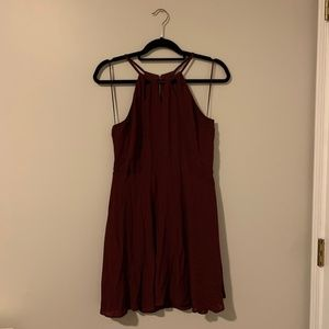 Express Cranberry Mini Dress